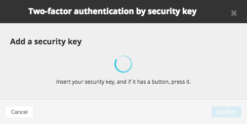 2FA securitykey