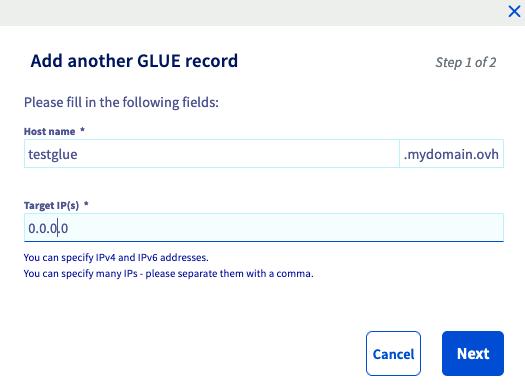 Registro Glue