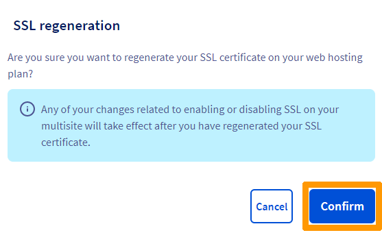 Managing an SSL certificate on a Web Hosting plan | OVH Guides