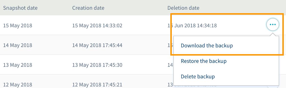 databasedump