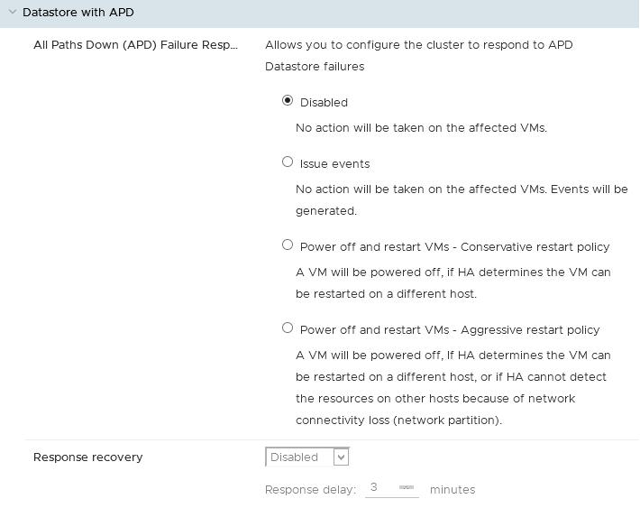 Datastore com APD