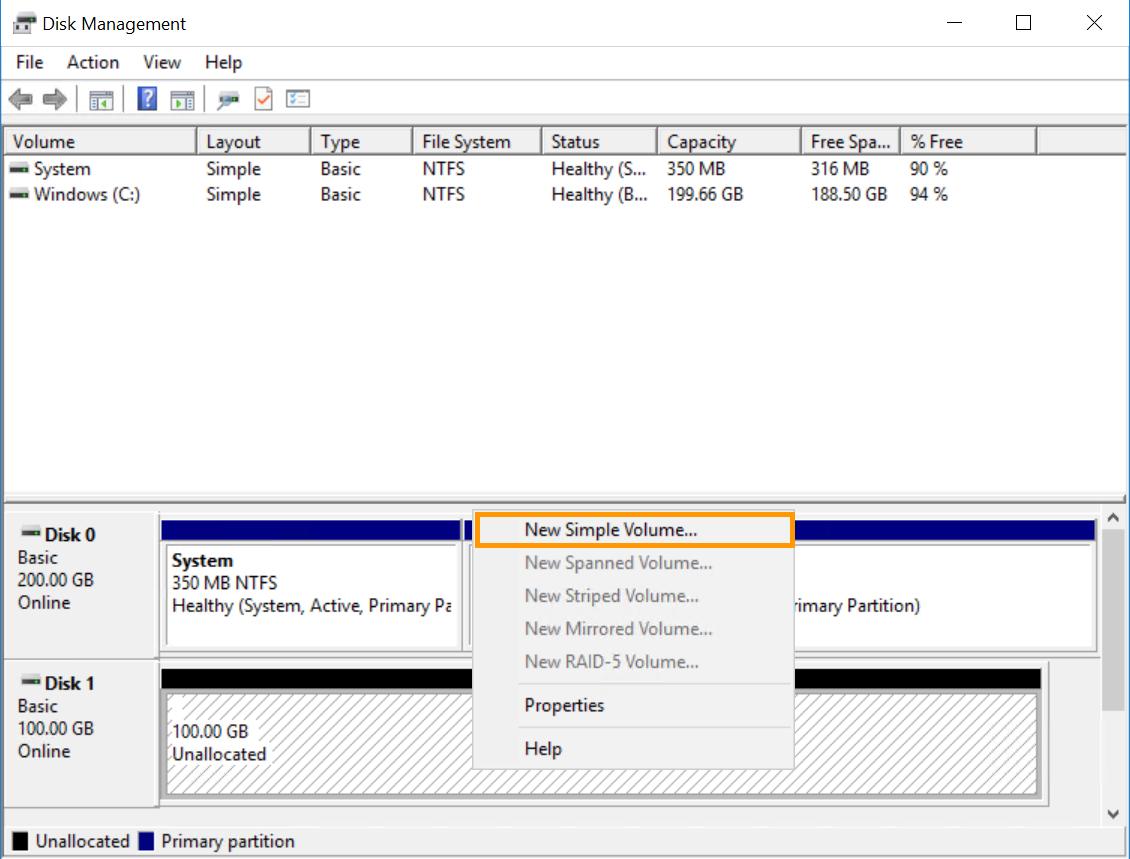 format disk