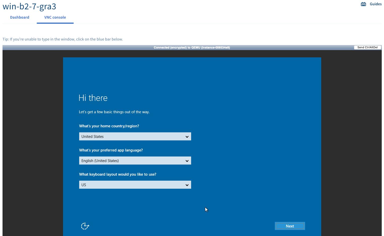 Windows sysprep