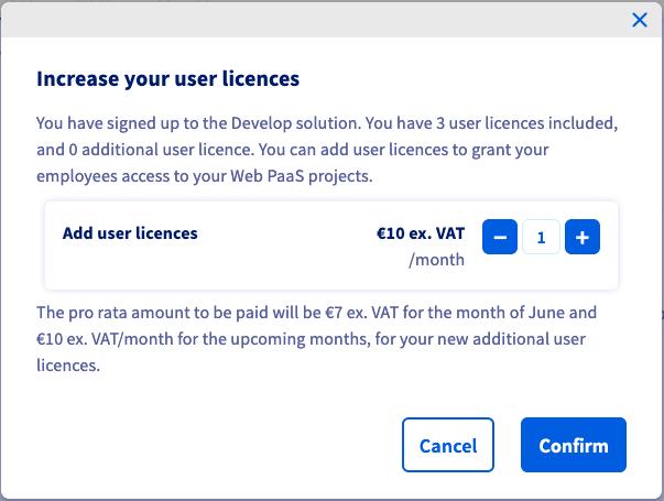 User licences